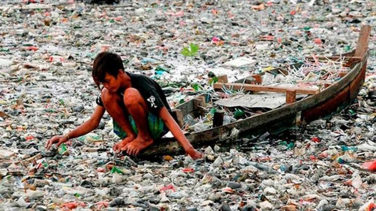 El medio ambiente contaminado afecta la salud de los niños