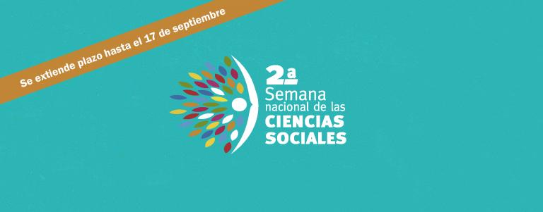 2a Semana Nacional de las Ciencias Sociales