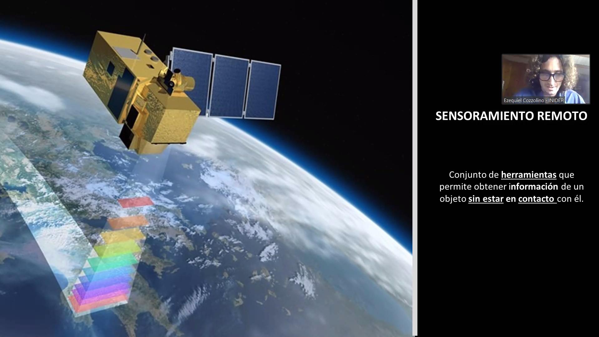 Se realizó el I Taller sobre uso de imágenes satelitales en la pesquería del calamar argentino