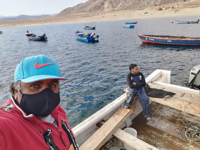Pescadores de Chile denunciaron avistamiento de barcos clandestinos chinos frente a sus costas